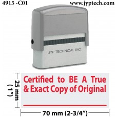 Certified to BE A True & Exact Copy of Original ( C01 )