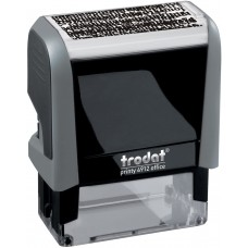 4912 Identity Theft Data Protection Self-Inking Stamp