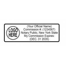 2773 Custom Notary Stamp of 50 US states with Logo