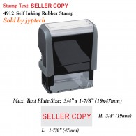 Seller Copy 4912 Self Inking Rubber Stamp