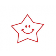 PC15 Round Teacher Stamp - Happy Star