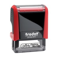 4911 Custom Trodat Clothing Marker Stamp