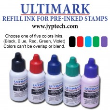 15 ml Bottle Ultimark Refill Ink for All Pre-inked Stamps