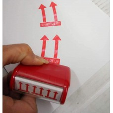 This Side UP Roller Self Inking Stock Stamp